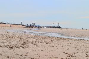 Blackpool, big dipper, pier & beach
