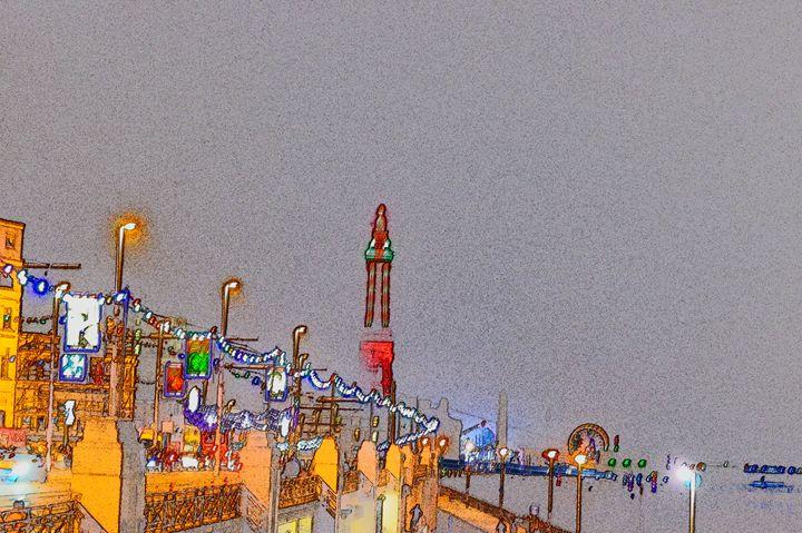 Blackpool tower illuminations - Timawells