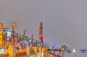 Blackpool tower illuminations