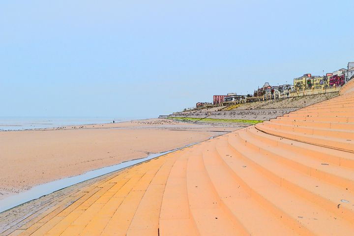 Blackpool Beach - Timawells