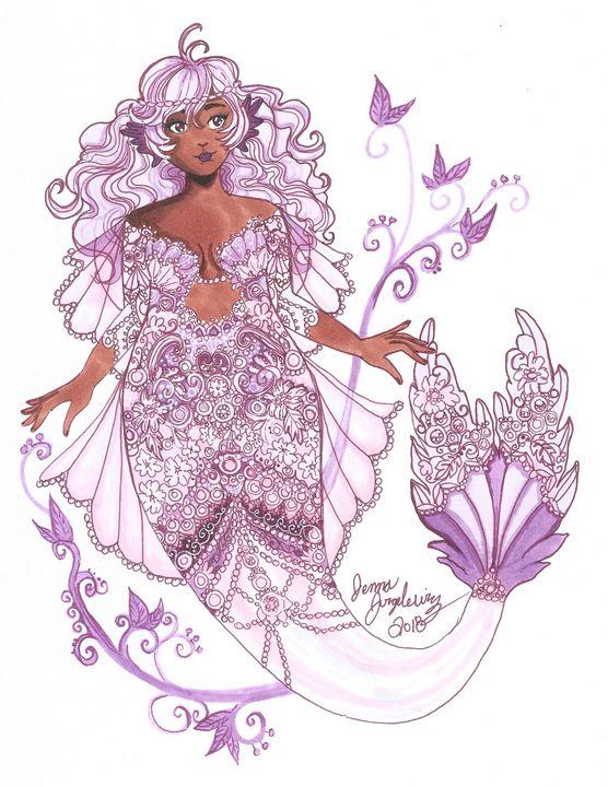 Lacey Mermaid - Jennifer Jurgelewicz