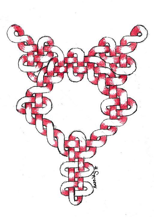 Custom Celtic Knot - Kassidy Hughes