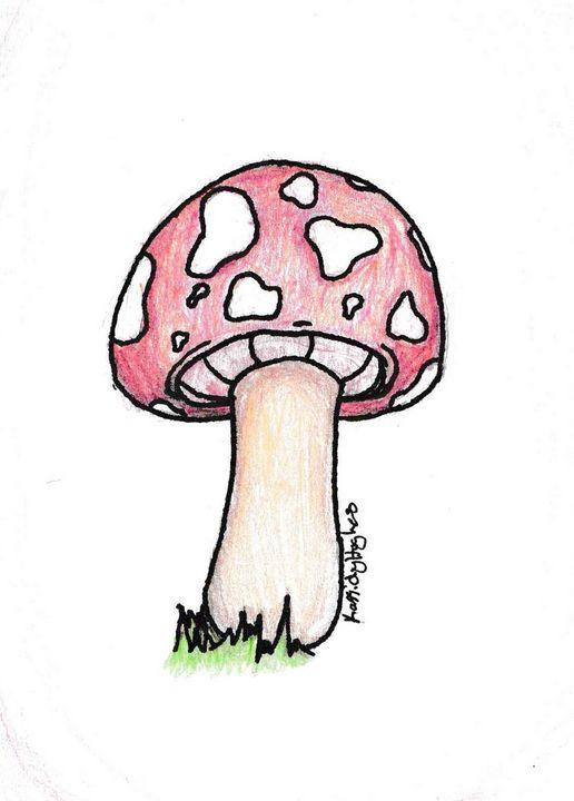 Red Mushroom - Kassidy Hughes