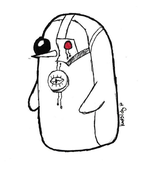 Cyborg Penguin - Kassidy Hughes