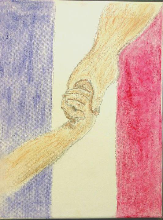Hope for Paris - Rêves D'artiste by Emily Howard