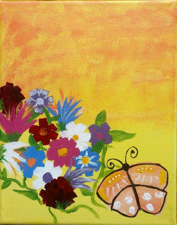 Butterfly Land - Rêves D'artiste by Emily Howard