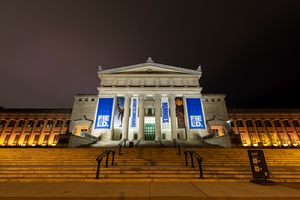 The Field Museum at night