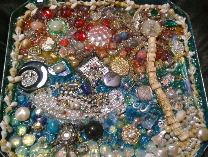 Abstract Floridian Jewelry Mosaic - NewellsJewelz
