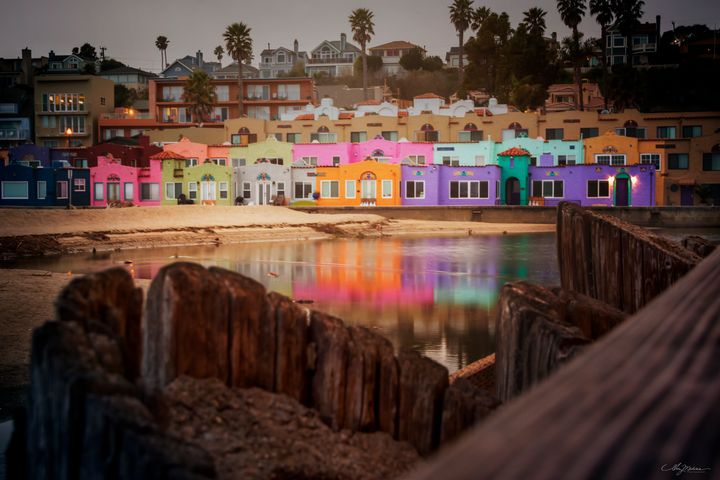 Capitola Peeking - Waves and Wonders - Amy Medina Photography