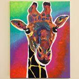 Original Painting(That 70's Giraffe)