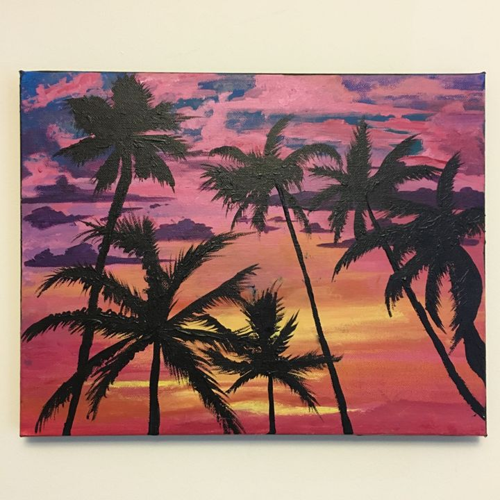 The Palms - Paintings by Suzanne Marie