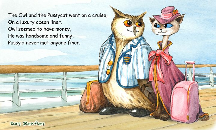 The Owl and the Pussy Cat poem 1 - Roy Bentley