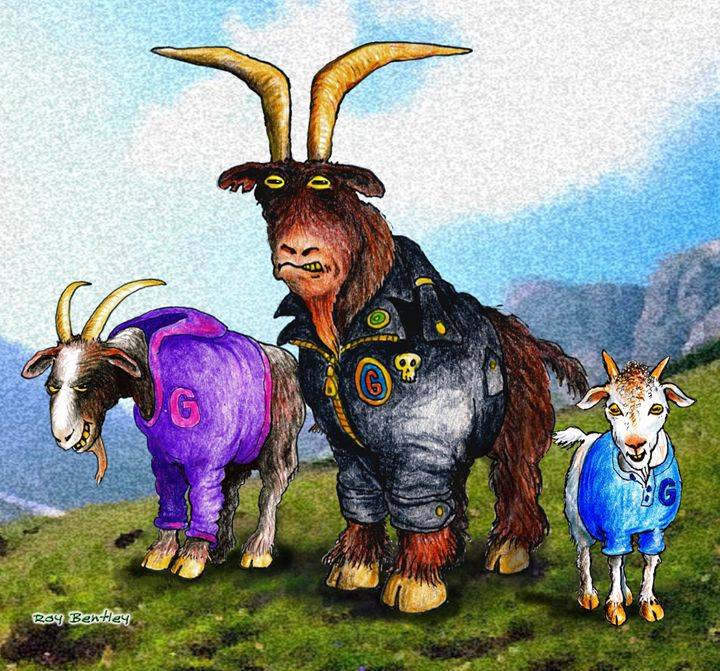 Three Billy Goats Gruff - Roy Bentley