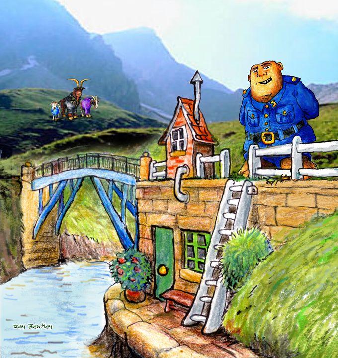 Rickety Bridge and Troll - Roy Bentley