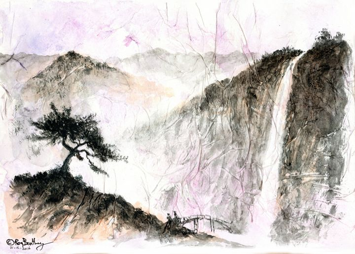 Chinese landscape - Roy Bentley