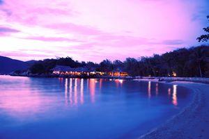 Sunset at Ong island