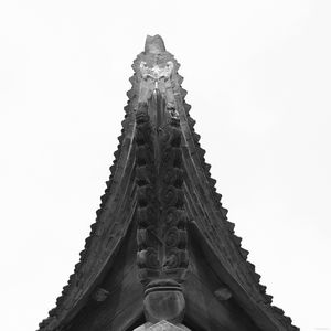 Curved corners of the pagoda roof