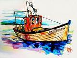 Sea Traveler original painting