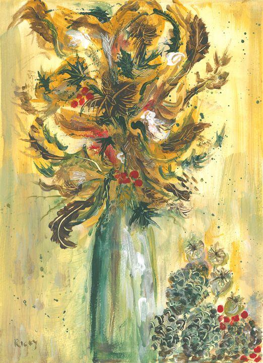 Winter Flowers - Veronica Rickard