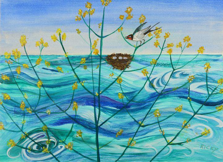 Spring on Lake Ontario - Veronica Rickard