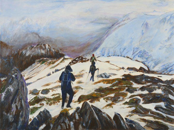 Climbers - Veronica Rickard
