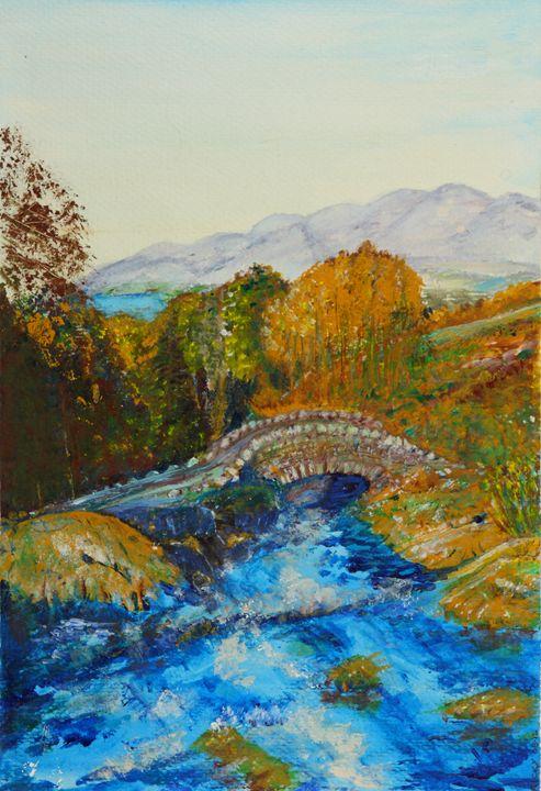 Ashness Bridge - Veronica Rickard