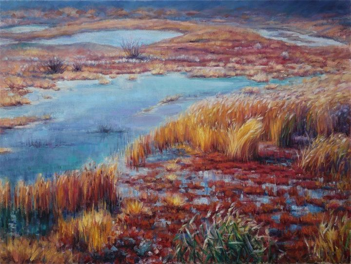 Landscape Oil Painting Aaaa Art House Paintings Prints Landscapes Nature Lakes Ponds Artpal