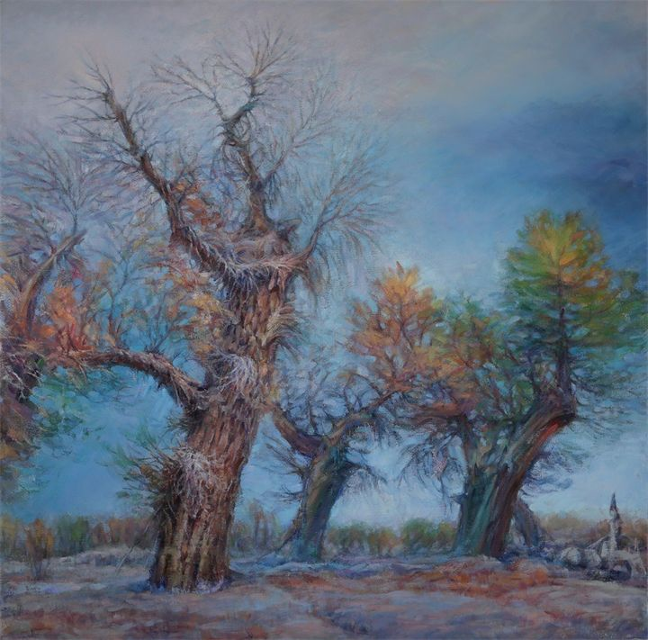 landscape oil painting - AAAA Art House