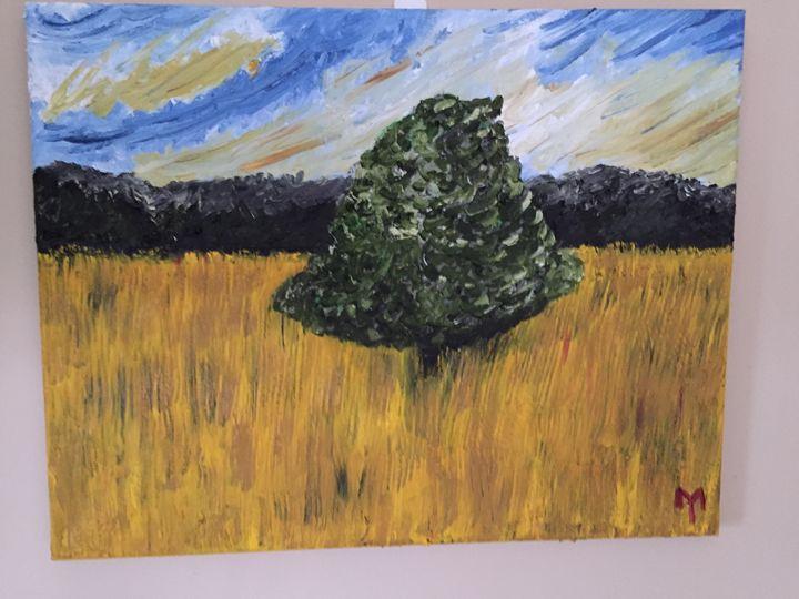 Single Tree - M.Y. Art Studios