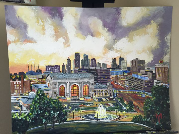 Downtown Kansas City - M.Y. Art Studios