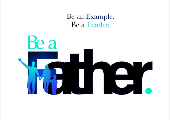 Be a Father - Christ Art