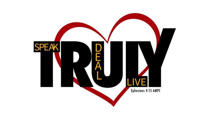 Truth enfolded in love. - Christ Art