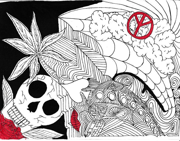 Psychadelic - Tamron Dubois Art Studio.