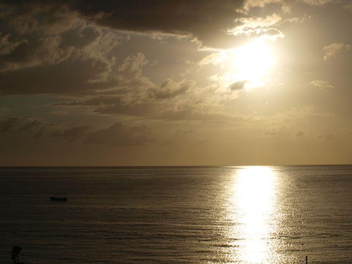 Negril Sunset 1 - Oskar Gronkowski