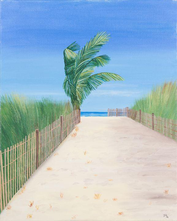 A Day at the Beach - Sandra Lorant