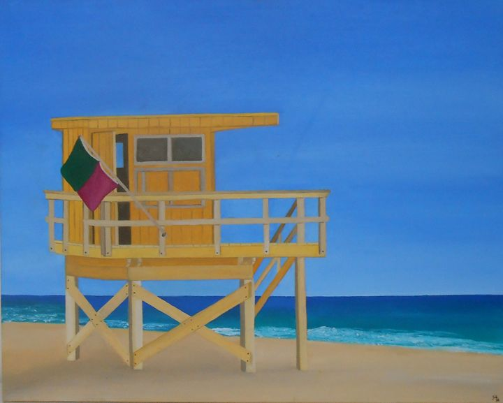 Lifeguard House - Sandra Lorant
