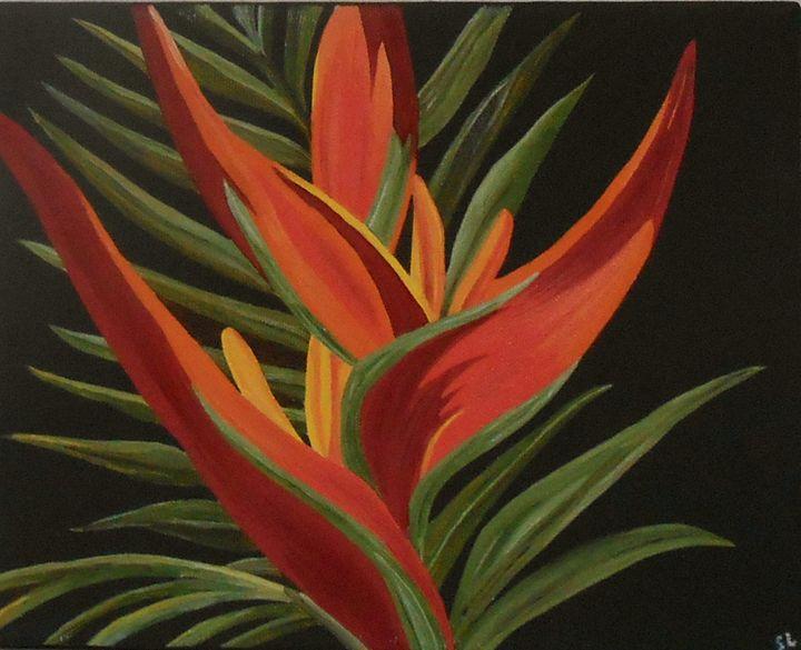 Bird of Paradise, 5 - Sandra Lorant