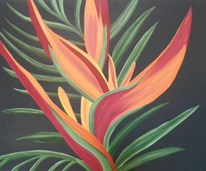 Bird of Paradise 6 - Sandra Lorant