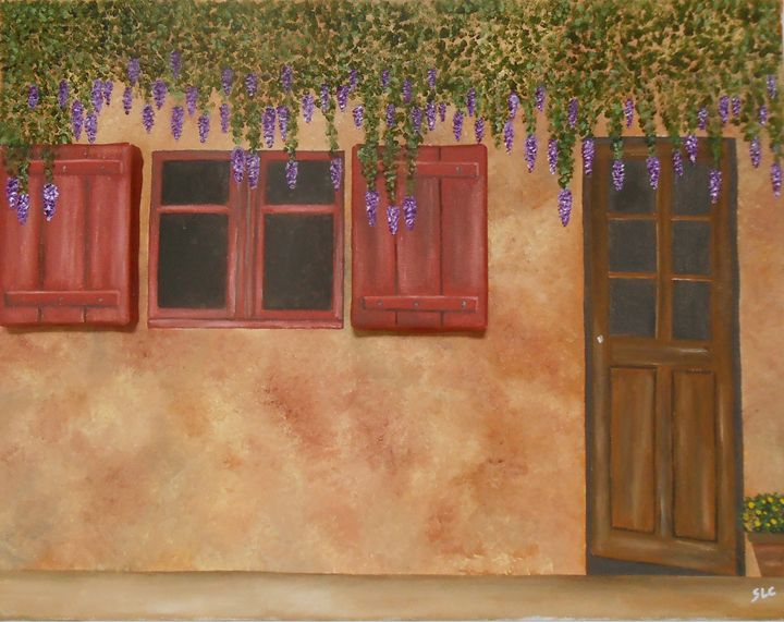 Fountain of Lilac - Sandra Lorant