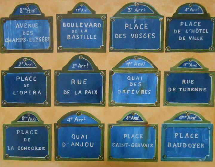 Streets of Paris - Sandra Lorant