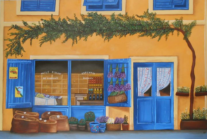 La Provence - Sandra Lorant