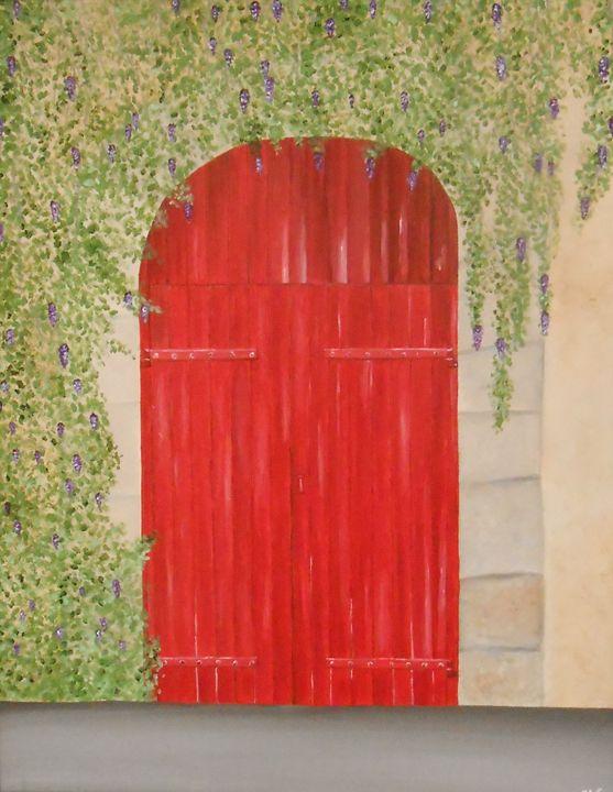 The Red Door - Sandra Lorant