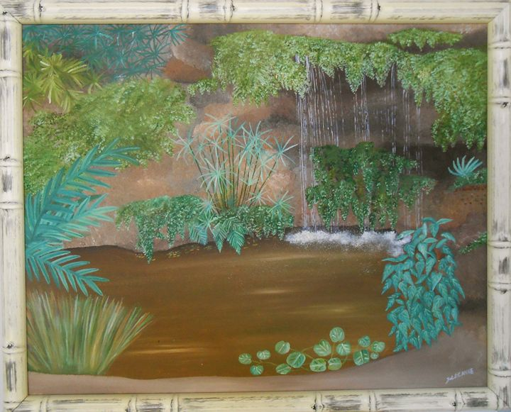 "The Pond, 16"" x 20"" - Sandra Lorant"