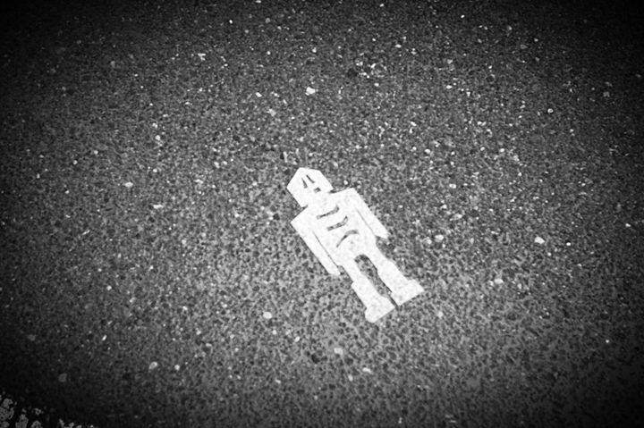 Crosswalk Skeleton - Emilie's Gallery