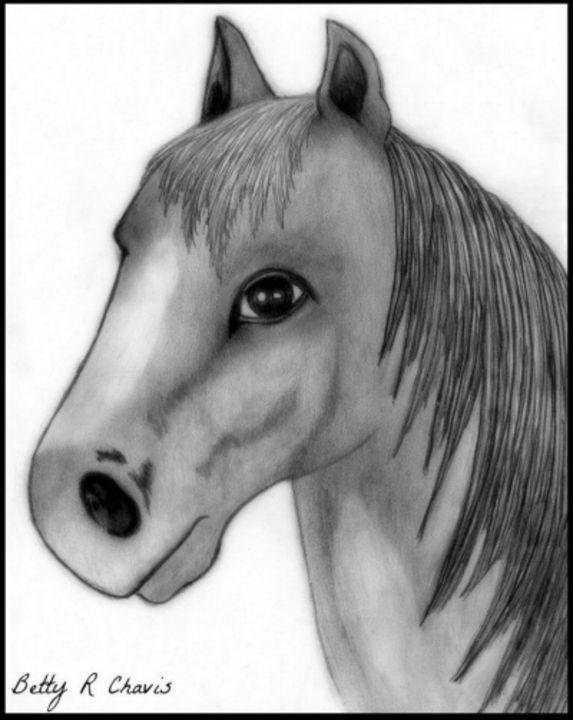 Pretty Pony - Chavis Art