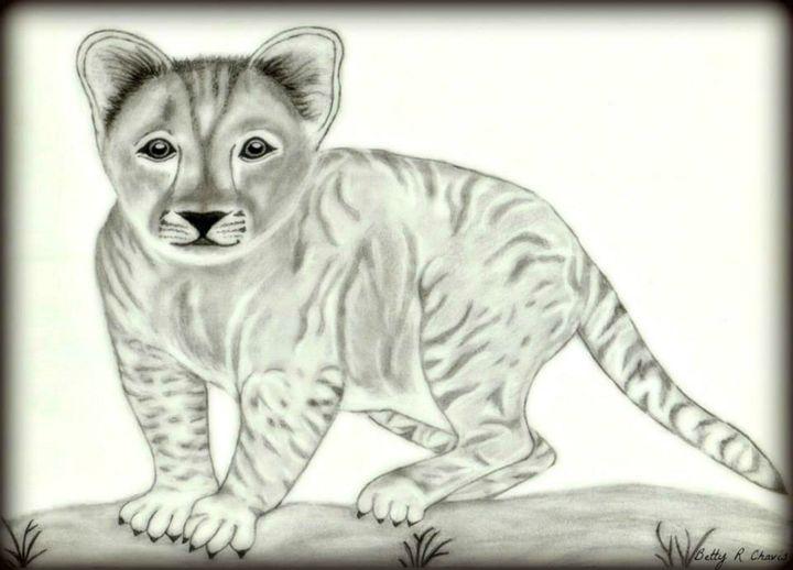 Baby Tiger - Chavis Art