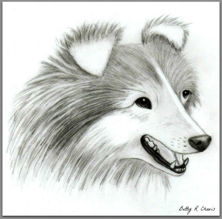 Happy Pup - Chavis Art
