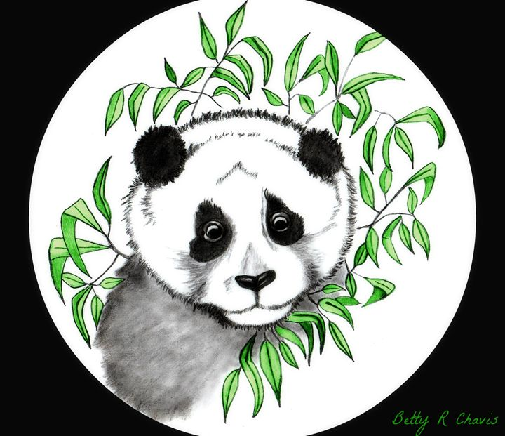 Panda Love - Chavis Art