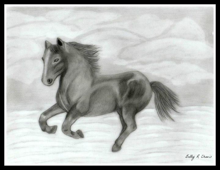 Wild Mustang - Chavis Art