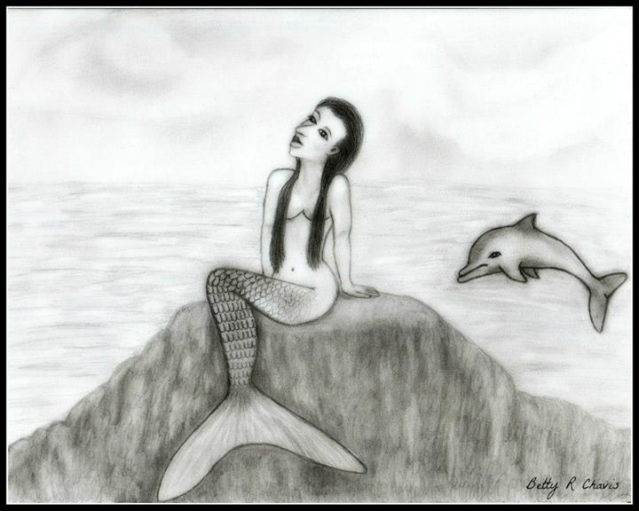 Goddess of the Sea - Chavis Art